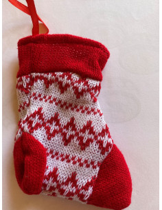 Mini chaussette de Noël garnie